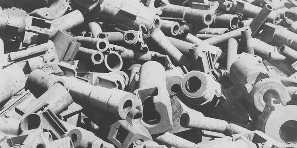 德国一战战败后被迫销毁的大炮