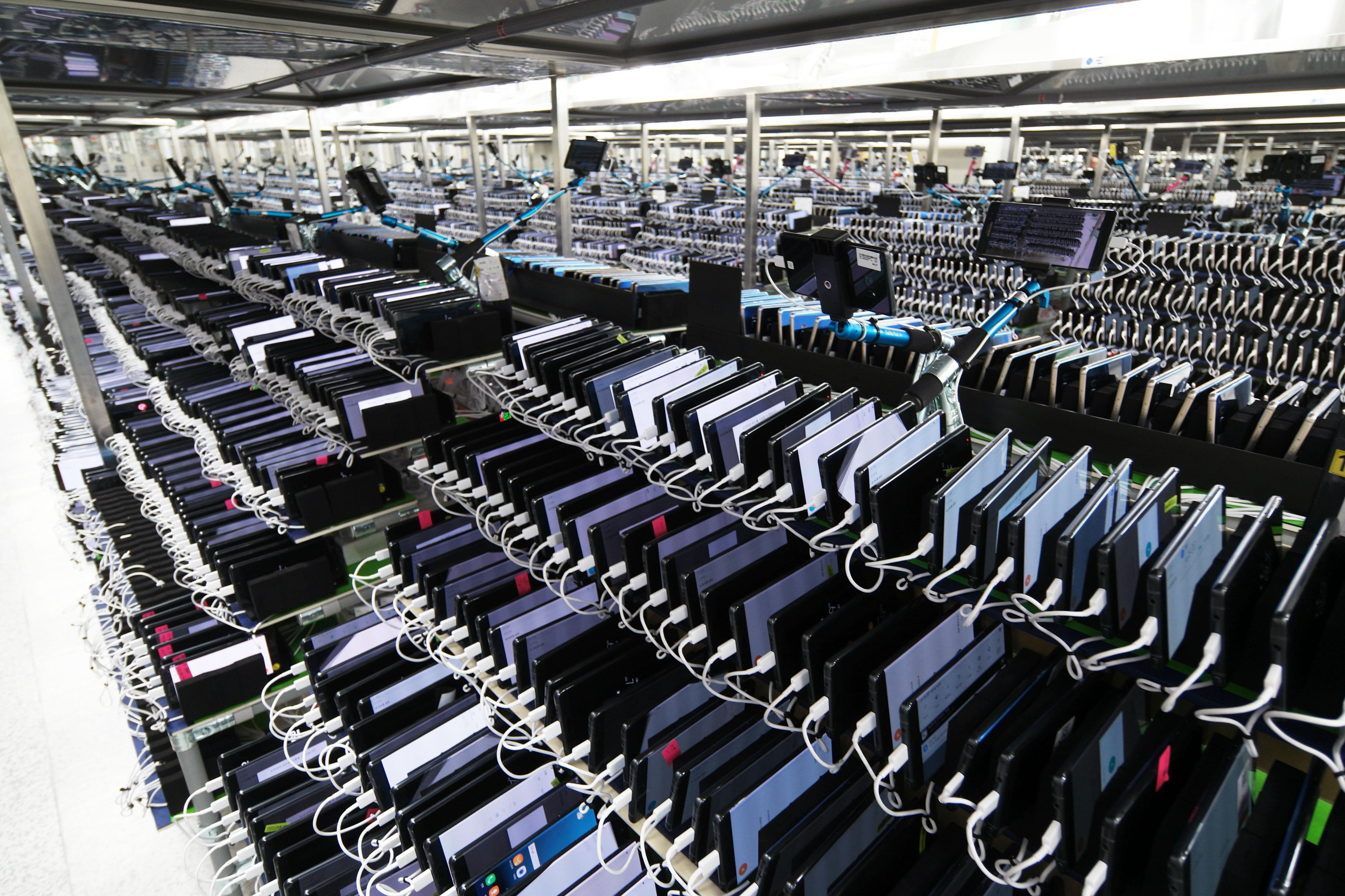 手机或再关闭一家中国工厂, 只留最后一家