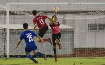 第五届省运会足球赛收官 琼中女足获少年女子组冠军