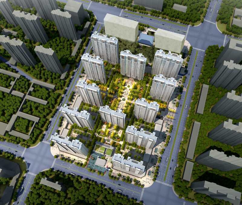 海尔地产·海逸公馆主推户型120-200㎡ 上林轩推建面约57-64㎡准现房公寓