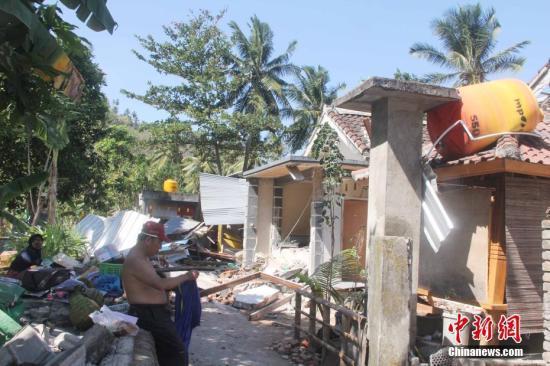 印尼近1个月地震频繁伤亡惨重 预计未来几周仍频发