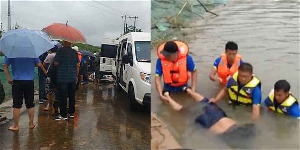 男子贾鲁河捕鱼被急流冲走 不幸溺亡