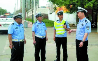 渑池县公安交警大队交通秩序集中整治行动侧记