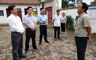 周六 卢氏县委书记王清华到文峪乡调研
