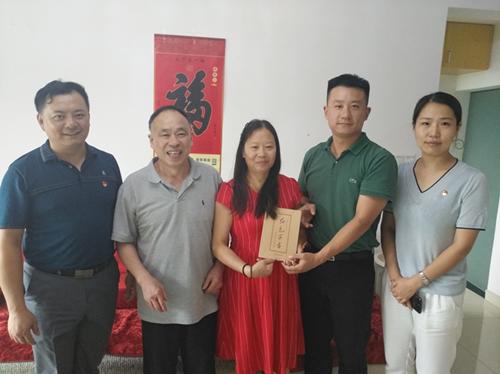 南昌市第一院纪委对新任党员干部开展政治家访活动