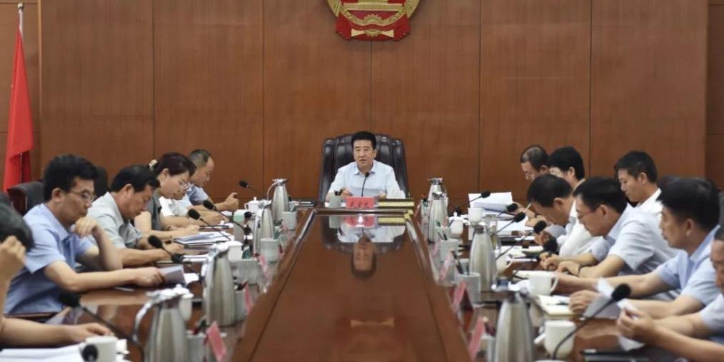 武宏文主持召开市政府常务会专题研究工业振兴