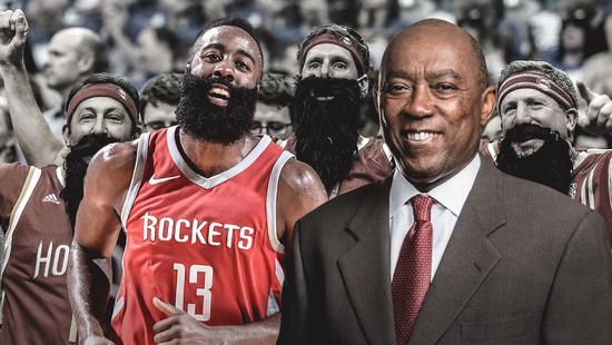 """休斯敦市长希望设立""""哈登日"""":他在场内外都是MVP"""