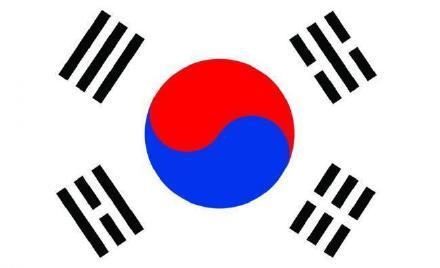 正确的韩国国旗
