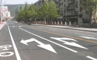 蚌埠市区3条道路实行全封闭施工建设