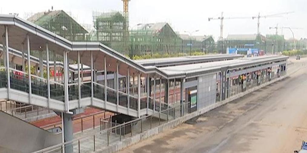 南宁BRT2号线来啦!站台几乎都有电梯 过你家吗?