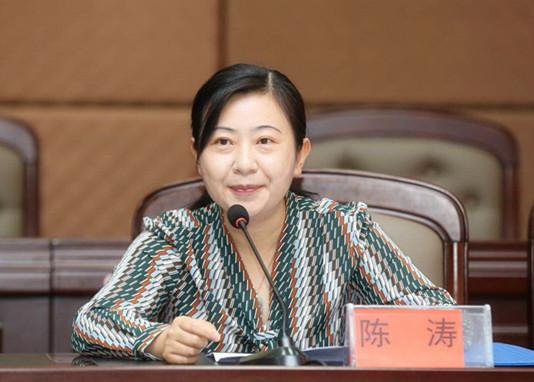 民盟盟员、六盘水市教育局副局长陈涛致辞