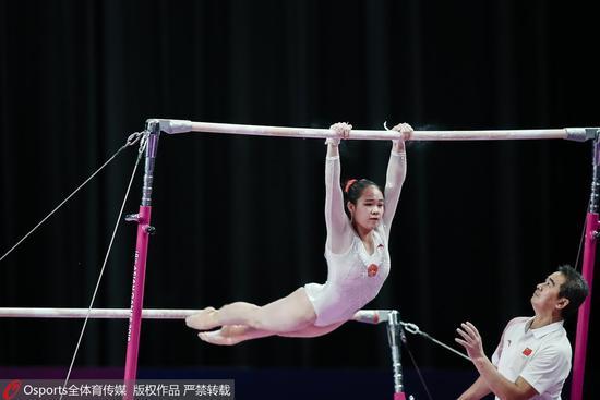 亚运12连冠!体操女团强势卫冕 朝鲜获亚军日本第3