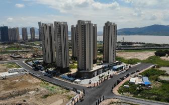 仓山区清富新城片区更宜居 7栋高楼力争年内交房
