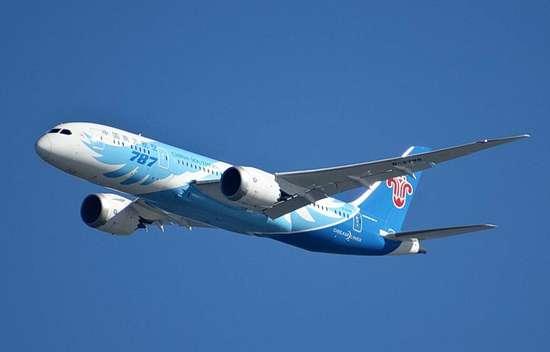 波音787中国服役五年记 载客两千万飞行四亿公里