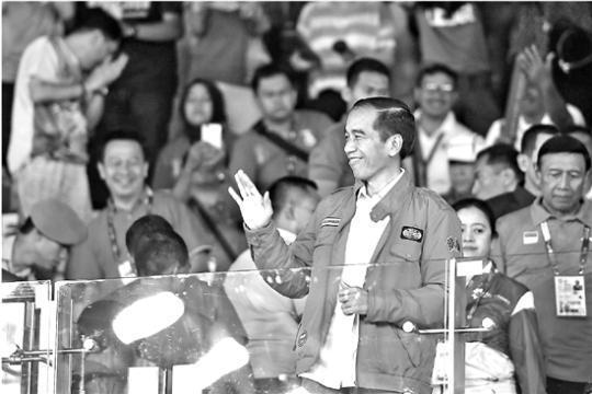 印尼总统御驾亲征 这枚金牌中国队才叫虎口拔牙