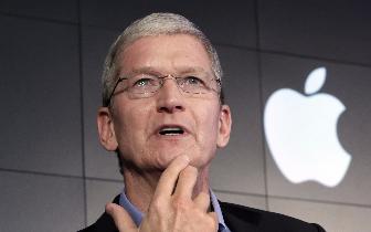 股价表现好 库克将获价值1.2亿美元苹果股票奖励