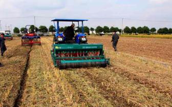 2018年河南省超430万台农机助力三秋生产