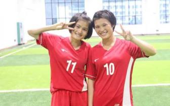 喜讯!琼中女足两名队员入选U15国家女子足球队