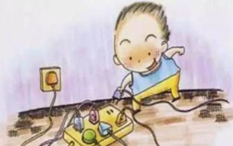 """4岁女童触电身亡 """"祸首""""竟是超市收银台破损电线"""