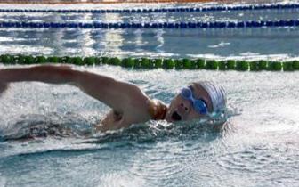 安徽省第七届残疾人运动会游泳比赛闭幕