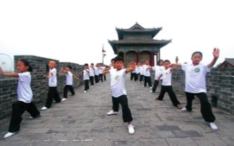 永年区武术院校成了许多学生暑期健身好去处