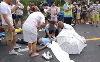 萍乡:正在开扶贫会议,楼下传来急促呼救:救命!