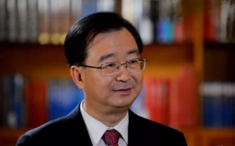 """王宁接受福建电视台专访,""""两个经济协作区发展访谈录"""