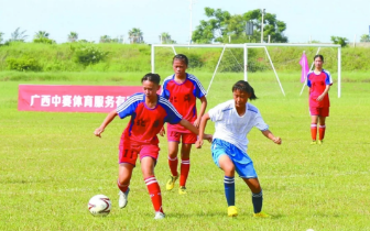 足球小将PK战 2018年广西青少年足球锦标赛开幕
