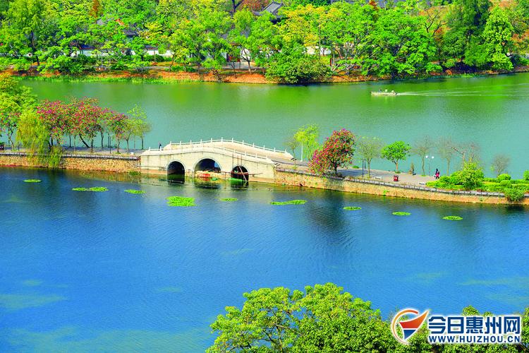 惠州西湖桥几许 堪作人间水墨图