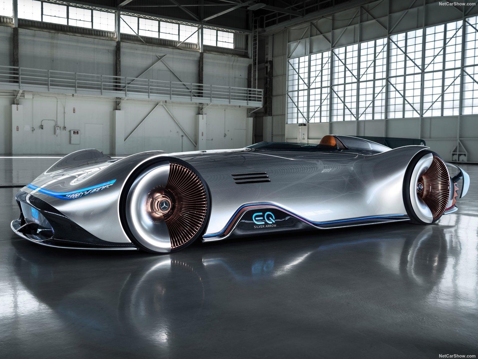 复古美学+先锋科技 Vision EQ银箭概念车亮相
