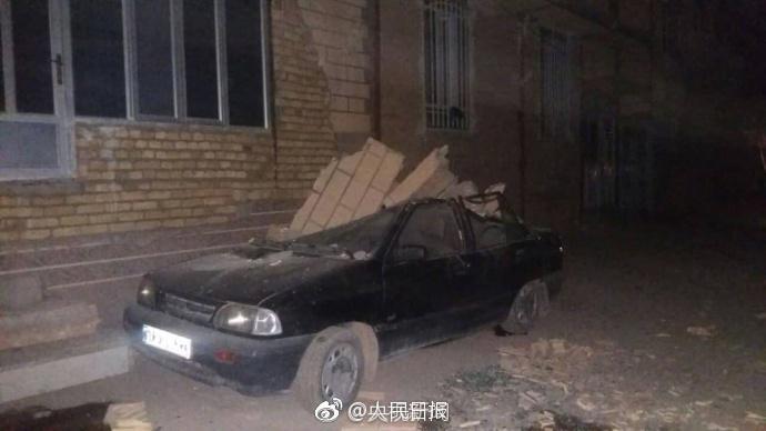 伊朗发生6.1级地震:已造成1人死亡 58人受伤