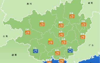 出伏暑热未消 今晚起桂北和沿海多降雨