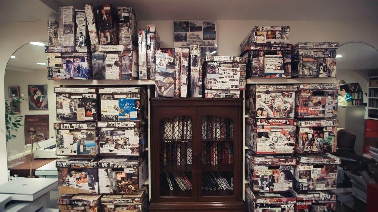 盖伊·特立斯的所有书稿箱子
