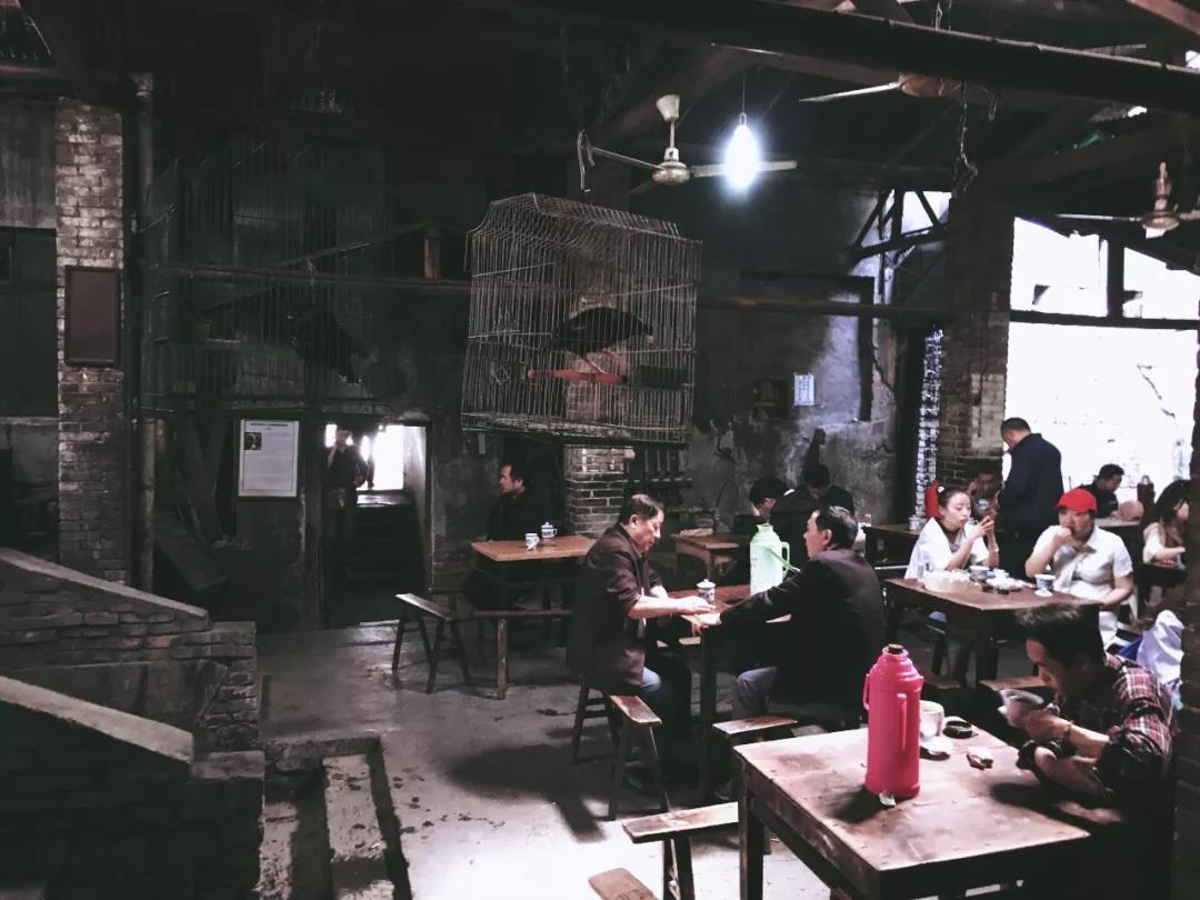 茶馆已经成了当地茶客生活的一部分(作者供图)