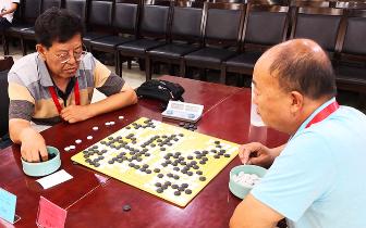 省运会群众体育组老年人围棋比赛落下帷幕