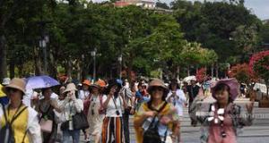 上半年国内旅游人数破28亿