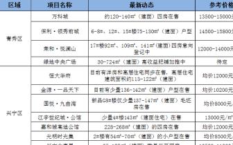 """""""金九银十""""来临 南宁30盘获预售证或迎来集中推盘"""