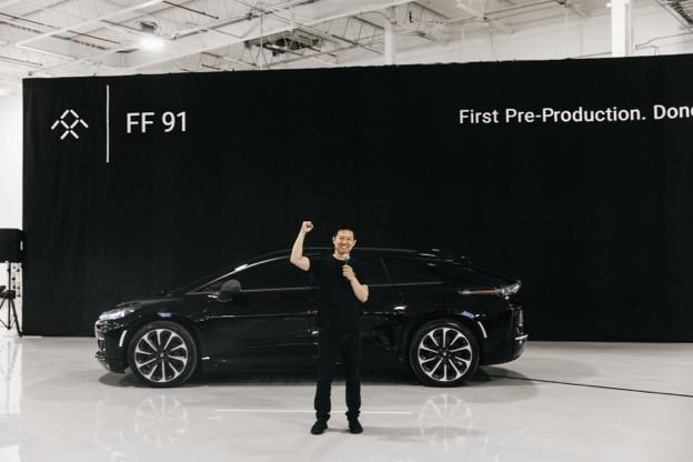 FF庆祝预量产车下线,透露招聘多位特斯拉离职人才