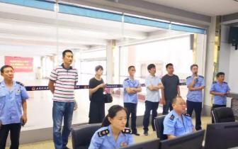 许昌市工商局政务及非公党建交流考察团到三门峡