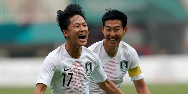 李昇佑2球孙兴慜送助攻 韩国3-1越南