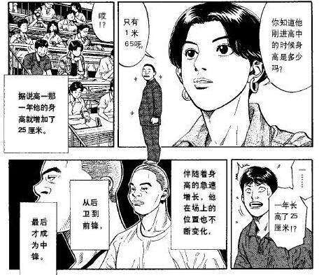 《灌篮高手》漫画