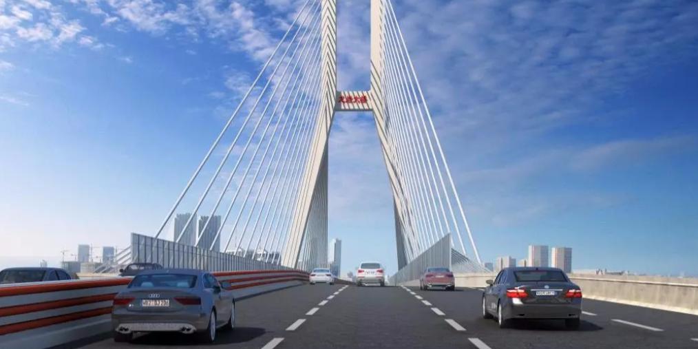 龙岩大桥主塔展示新形象,主桥桩基全面完工