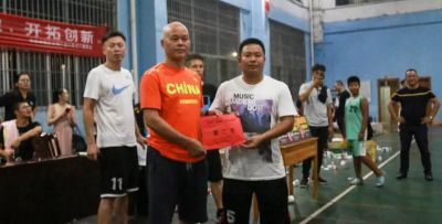 广西体育节(富川赛区)篮球赛顺利闭幕