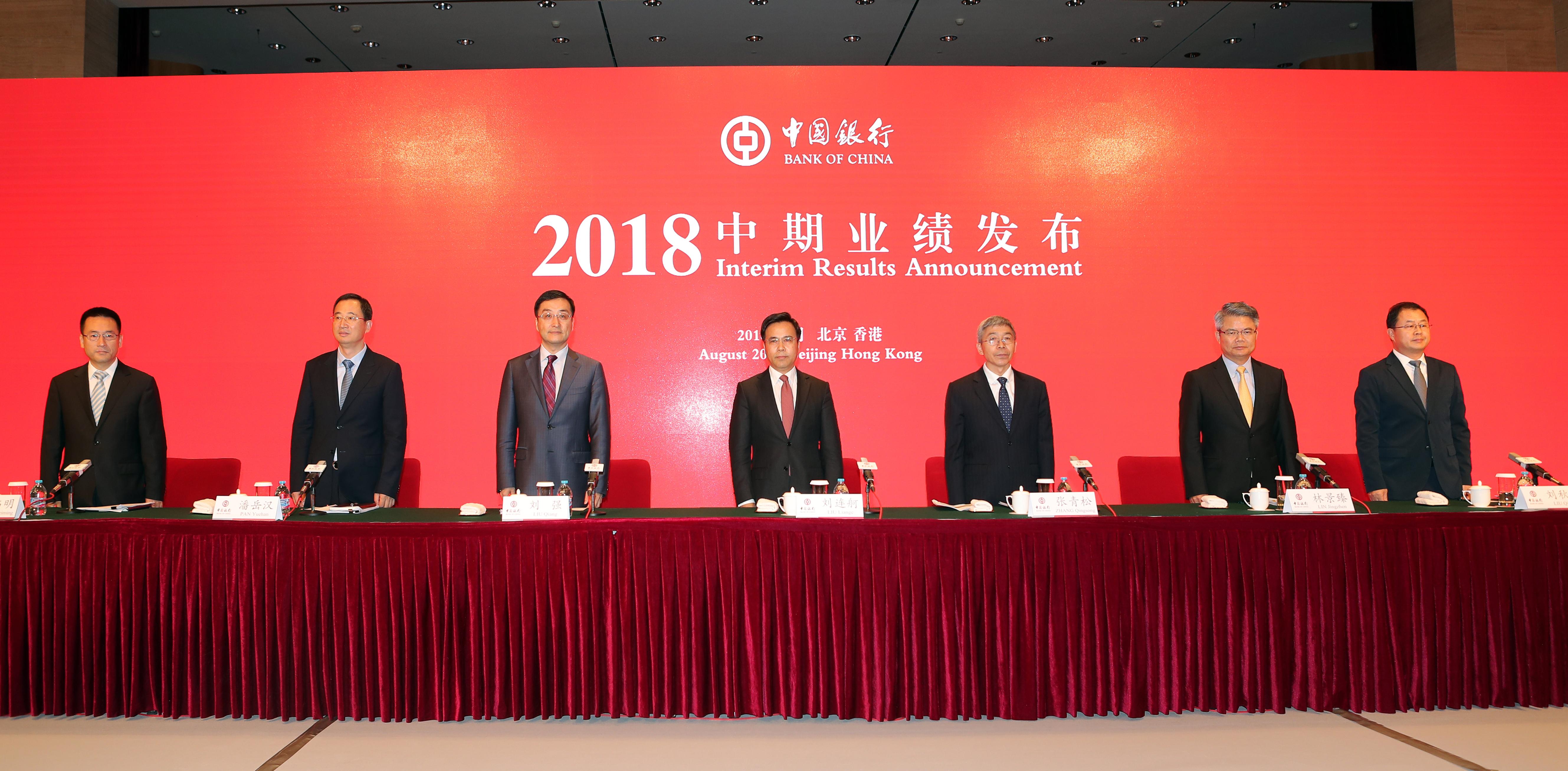 号外|中行行长刘连舸:下半年将适度加大信贷投放