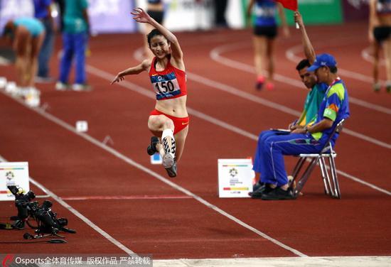 中国女子三级跳_女子三级跳中国无缘前三 哈萨克斯坦实现三连冠