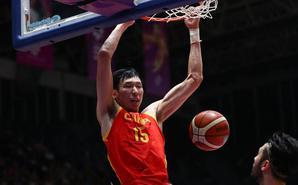 亚运-中国男篮大胜中国台北进决赛
