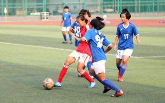 省运会足球(女子乙组)比赛完赛