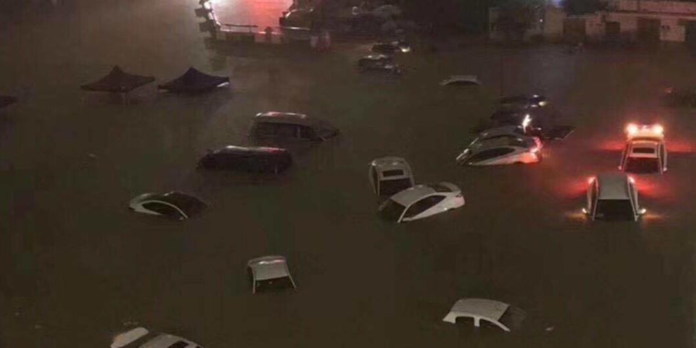 昨天的强降雨把深圳浇成了这样
