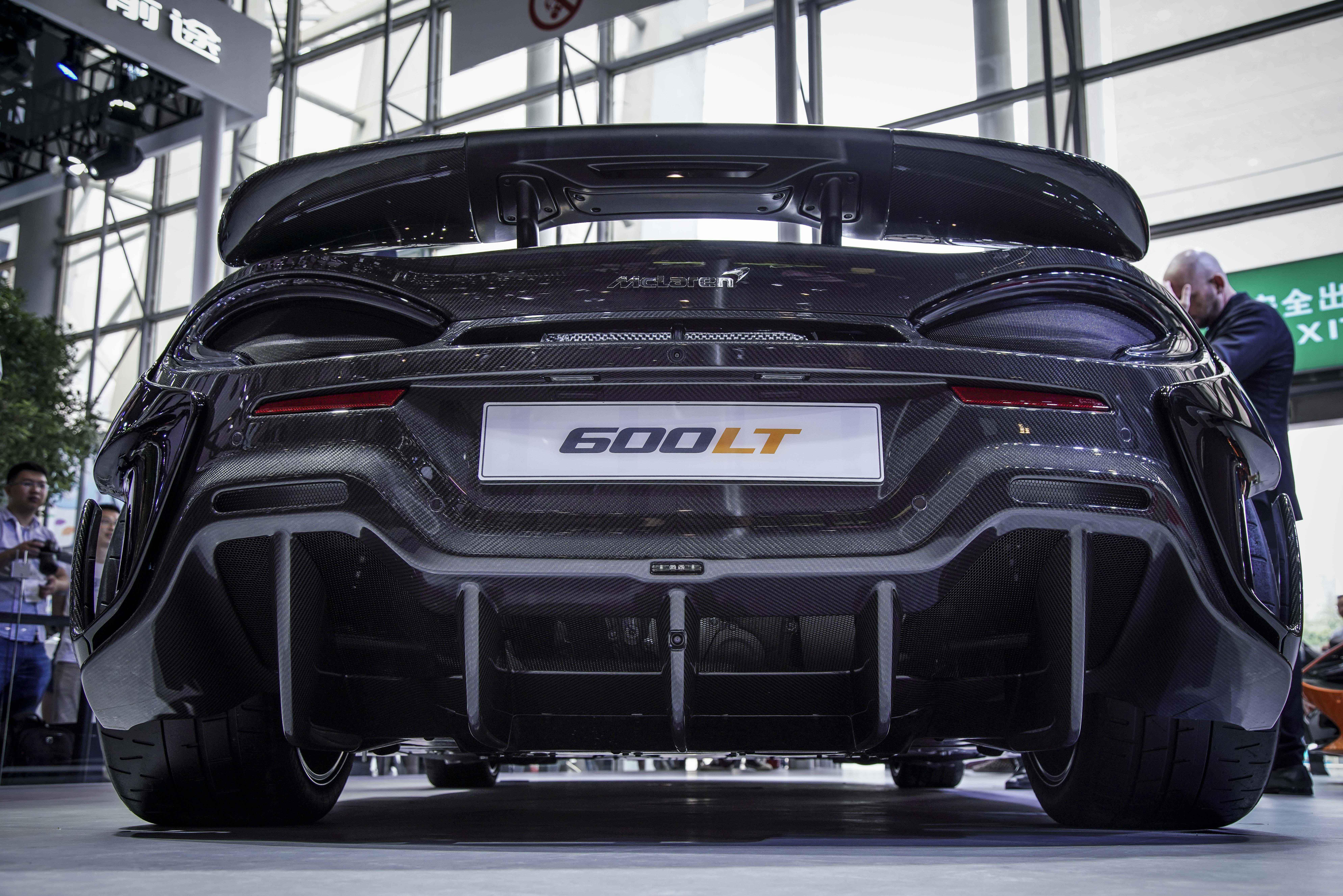 迈凯伦600LT亮相成都车展 续写长尾传奇