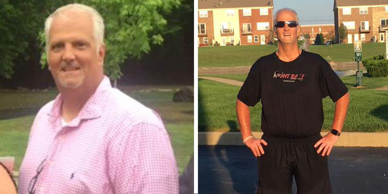 男子从零到跑全马用15个月 而且瘦了102斤